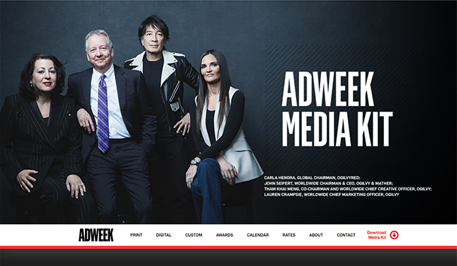 Custom Content Management for AdWeek