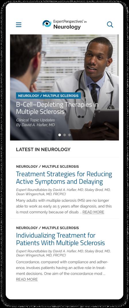 Expert Perspectives web site screenshot